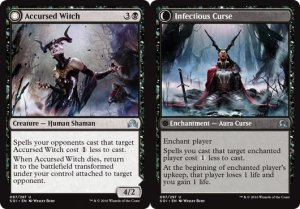 Accursed Witch / Infectious Curse, Shadows over Innistrad