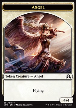 Angel Token, Shadows over Innistrad