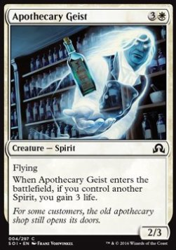 Apothecary Geist, Shadows over Innistrad