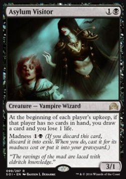 Asylum Visitor, Shadows over Innistrad