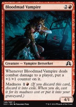 Bloodmad Vampire, Shadows over Innistrad