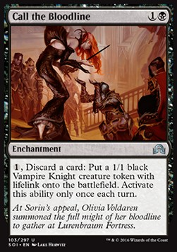 Call the Bloodline, Shadows over Innistrad