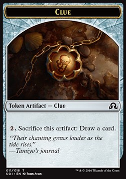 Clue Token, Shadows over Innistrad