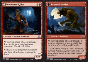 Convicted Killer / Branded Howler, Shadows over Innistrad