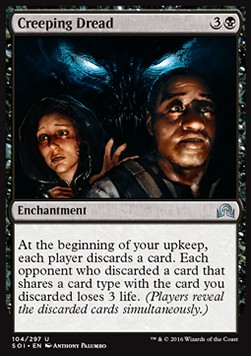 Creeping Dread, Shadows over Innistrad