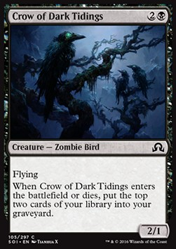 Crow of Dark Tidings, Shadows over Innistrad