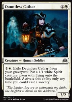 Dauntless Cathar, Shadows over Innistrad