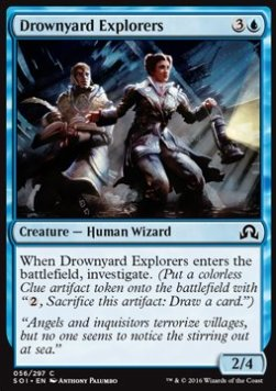 Drownyard Explorers, Shadows over Innistrad