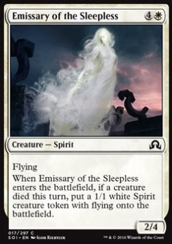 Emissary of the Sleepless, Shadows over Innistrad