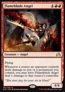 Flameblade Angel, Shadows over Innistrad