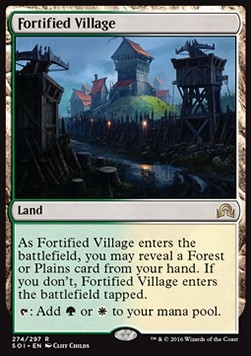 Fortified Village, Shadows over Innistrad