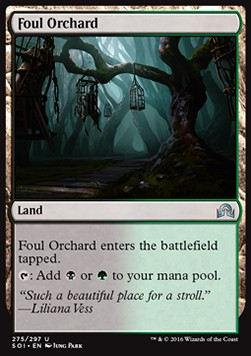 Foul Orchard, Shadows over Innistrad