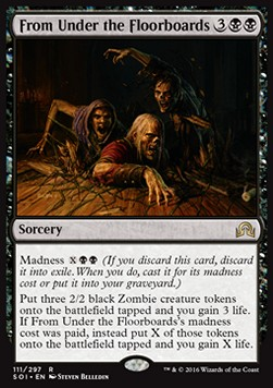 From Under the Floorboards, Shadows over Innistrad