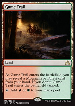 Game Trail, Shadows over Innistrad