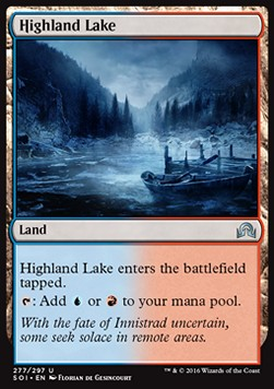 Highland Lake, Shadows over Innistrad