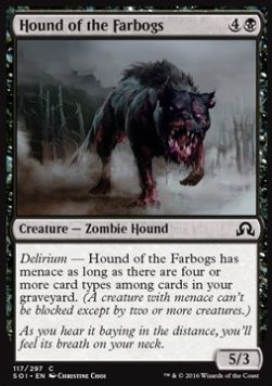 Hound of the Farbogs, Shadows over Innistrad