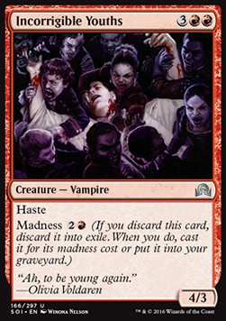 Incorrigible Youths, Shadows over Innistrad