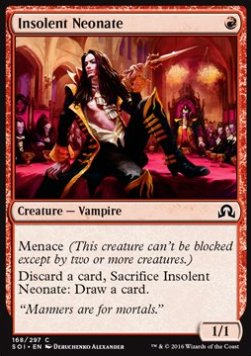 Insolent Neonate, Shadows over Innistrad
