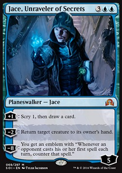 Jace, Unraveler of Secrets, Shadows over Innistrad