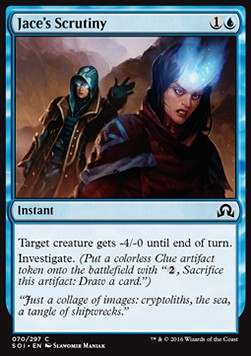 Jace's Scrutiny, Shadows over Innistrad