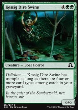 Kessig Dire Swine, Shadows over Innistrad