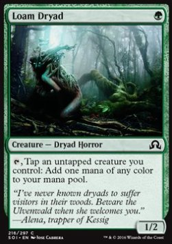 Loam Dryad, Shadows over Innistrad