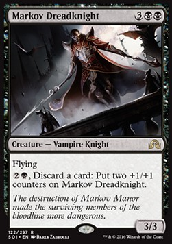 Markov Dreadknight, Shadows over Innistrad