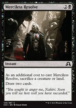 Merciless Resolve, Shadows over Innistrad