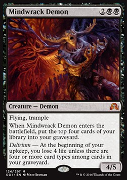 Mindwrack Demon, Shadows over Innistrad