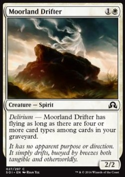 Moorland Drifter, Shadows over Innistrad
