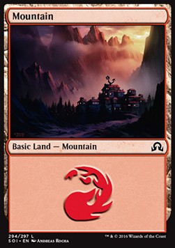 Mountain, Shadows over Innistrad