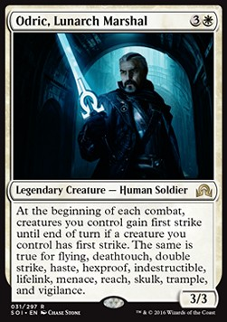 Odric, Lunarch Marshal, Shadows over Innistrad