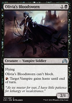 Olivia's Bloodsworn, Shadows over Innistrad