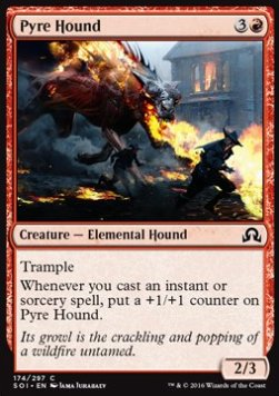 Pyre Hound, Shadows over Innistrad