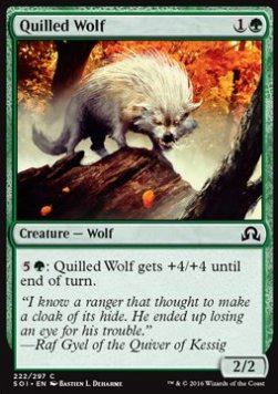 Quilled Wolf, Shadows over Innistrad