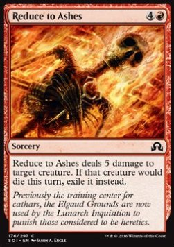 Reduce to Ashes, Shadows over Innistrad