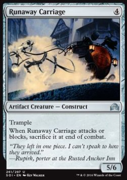 Runaway Carriage, Shadows over Innistrad