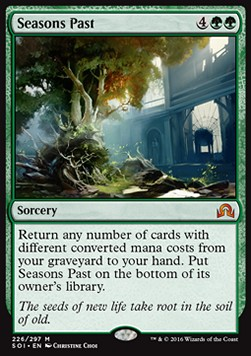 Seasons Past, Shadows over Innistrad