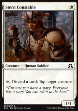 Stern Constable, Shadows over Innistrad