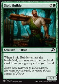 Stoic Builder, Shadows over Innistrad