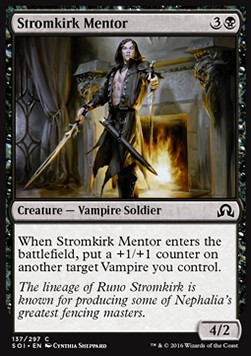 Stromkirk Mentor, Shadows over Innistrad