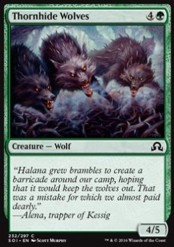 Thornhide Wolves, Shadows over Innistrad