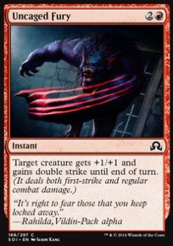 Uncaged Fury, Shadows over Innistrad