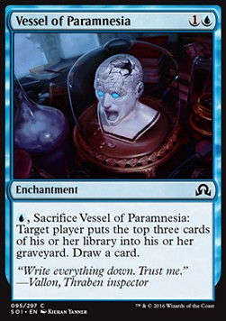 Vessel of Paramnesia, Shadows over Innistrad