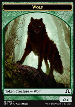 Wolf Token, Shadows over Innistrad