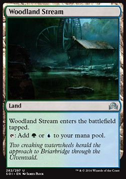 Woodland Stream, Shadows over Innistrad