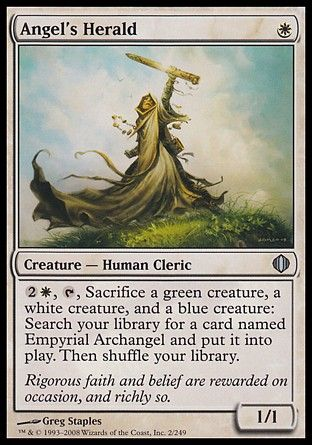 Angel's Herald, Shards of Alara