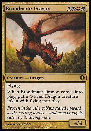 Broodmate Dragon, Shards of Alara