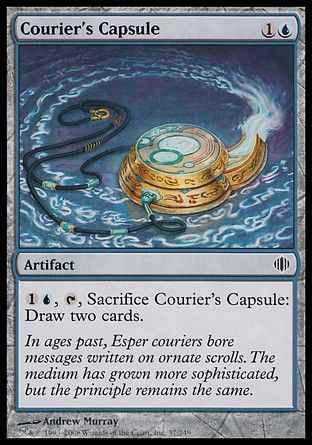 Courier's Capsule, Shards of Alara