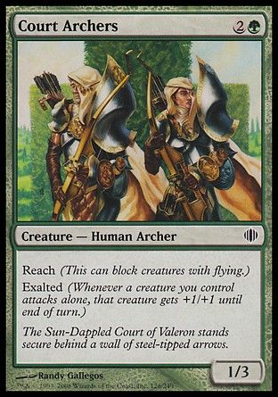 Court Archers, Shards of Alara